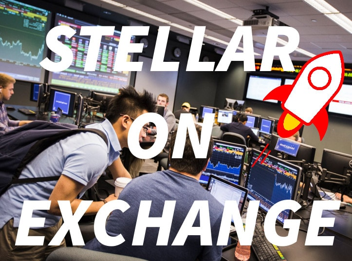 buying stellar on exchange